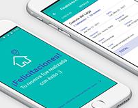 Diseño UX / App intercambio de casas
