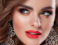 Editorial beauty Sunkissed BRIDEMAKE-UP trendy 2/2019