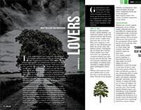 Dark Tree Magazine Layout - FREE Download!