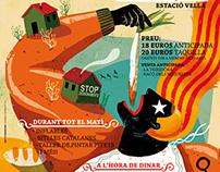 XX Calçotada popular Igualada 2015 poster