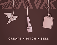 Create. Pitch. Sell. Posters and Postcards