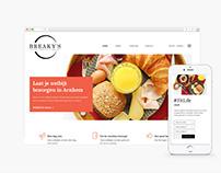 Breakfast Delivery Webshop