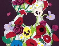 Paper Art La Jardinera - Violeta Parra