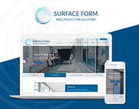 Surface Form website redesign