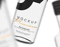 Beverage - Translucent Bootle - Mockup