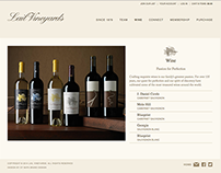 Lail Vineyards Website