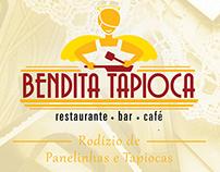 Bendita Tapioca - Redesign do logo + Impressos