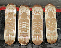 ENGRAVED SKATEBOARD DECKS