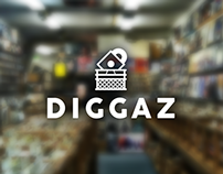 Diggaz Logo Design