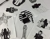 Robot illustrations