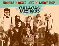 Flyer Calacas Jazz Band