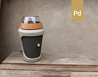 Coffee Grinder - Aesthetic Product Design
