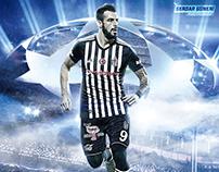 Photoshop-Álvaro Negredo-Wallpaper | Beşiktaş | Footbal