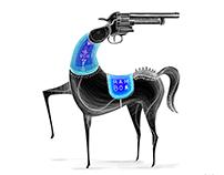GUN & ghoda