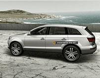 Audi Q7 China Launch Campaign