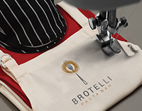 Logo design presentation for ,,BROTELLI PASTA BAR,,