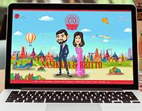 Sasikala Britto Wedding Website