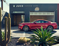 Ford Mustang / Portfolio project shot in Los Angeles
