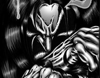 Vesil Issue #1 - Comic Book Lettering