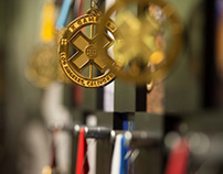 X Games Medal Wall