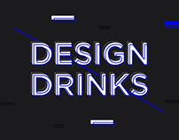 """""""Design Drinks"""" Event Artwork"""