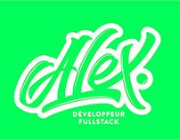 Lettering Logotype / Développeur Fullstack