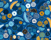 'BlueTropics' Pattern