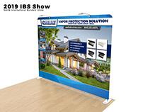 Trade Show Booth Vapor Protection Solution