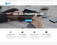 Helix3 - Best Free Joomla Template Framework