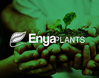 Enya Plants | Logo Design