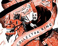 Creepy kings with hobbies