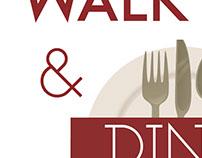 Walk & Dine trifold