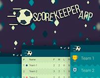 Score keeper app