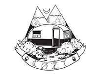 6 Easy Steps For A Cozy Life In a trailer(Zine+T-Shirt)