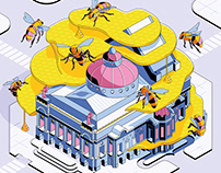 The Bees Buzz in Paris – Les Echos Weekend, 2020