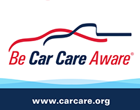 Be Car Care Aware consumer campaign branding