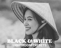 6 Free Black and White Collection Lightroom Presets