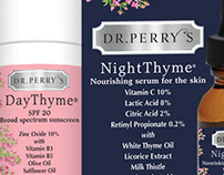 Dr. Perry's Brand Creative Direction & Graphic Design