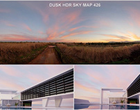 Dusk HDR SKY Map 426
