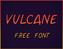 Typography: Vulcane Free Font