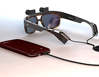 "Eyesynth, glasses that make it possible to ""see"""