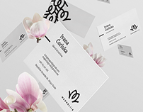 Magnolija Flower Shops Visual Identity