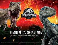 Descubrí los dinosaurios.