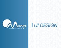 Mirage Website UI