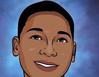 Tamir Rice Illustration by Wayne Flint