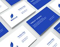 "design visit card ""Miella"""