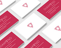 DIAMOND Beauty Salon - logo design