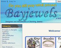 Bayjewels eCommerce website