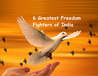 6 Greatest Freedom Fighters of India