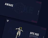 AWAKE website